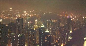 홍콩 빅토리아파크 야경