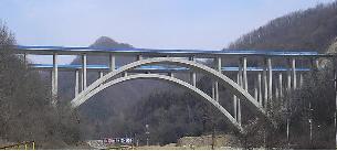죽림1교(한국도로공사,금호산업) 시공완료 전경