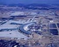 인천국제공항 시공 전경