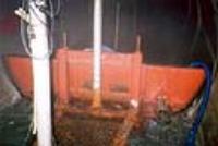 영천댐 도수로-양수차(수문)을 이용한 배수처리