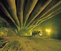 U-2 원유비축기지-공사용 터널내부 및 환기 Duct
