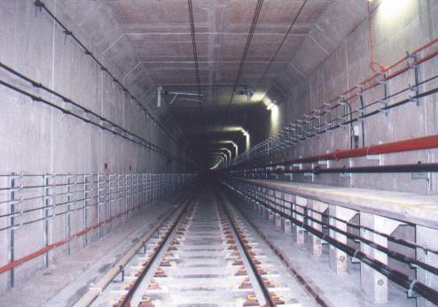 싱가포르 북동선_시공 완료된 Cut & cover tunnel
