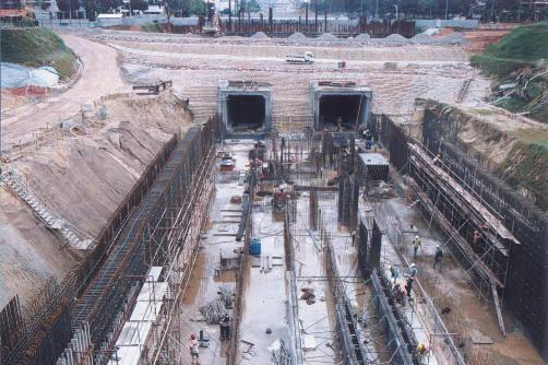 싱가포르 북동선_A지구 역사 구조물 전경