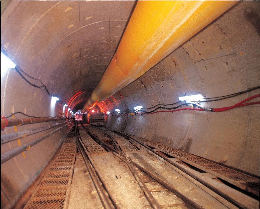 싱가포르 터널형 하수관로