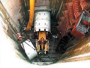 싱가포르 터널형 하수관로_Segment 조립