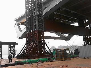 서울 암사대교 헤비리프팅 잭 800톤